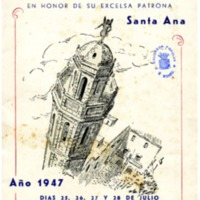 [Programa de la Festa Major del Vendrell, 1947]