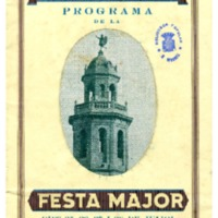 [Programa de la Festa Major del Vendrell, 1932]