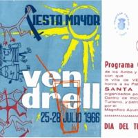 [Programa de la Festa Major del Vendrell, 1966]