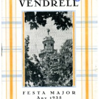 [Programa de la Festa Major del Vendrell, 1935]