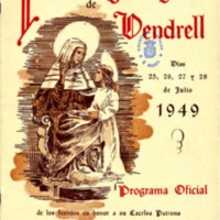 [Programa de la Festa Major del Vendrell, 1949]