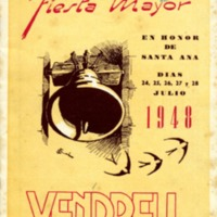 [Programa de la Festa Major del Vendrell, 1948]