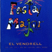 [Programa de la Festa Major del Vendrell, 2002]