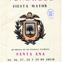 [Programa de la Festa Major del Vendrell, 1945]