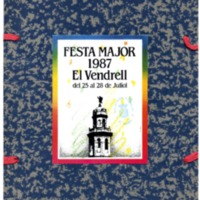 [Programa de la Festa Major del Vendrell, 1987]