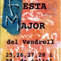 [Programa de la Festa Major del Vendrell, 2000]