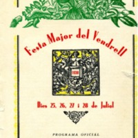 [Programa de la Festa Major del Vendrell, 1930]