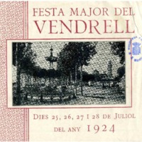[Programa de la Festa Major del Vendrell, 1924]