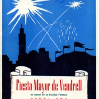 [Programa de la Festa Major del Vendrell, 1950]