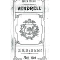 [Programa de la Festa Major del Vendrell, 1908]