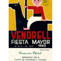 [Programa de la Festa Major del Vendrell, 1963]